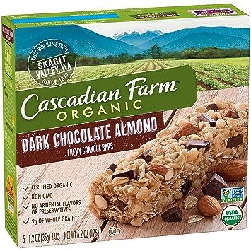 Amazon.com: Cascadian Farm Organic Granola Bars, Dark ...