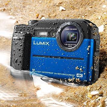 Amazon.com: Panasonic Lumix TS7 Cámara resistente al agua ...
