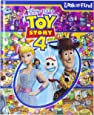 Disney Pixar Toy Story 4 Woody, Buzz Lightyear, Bo Peep, and More! - Look and Find Activity Book - PI Kids