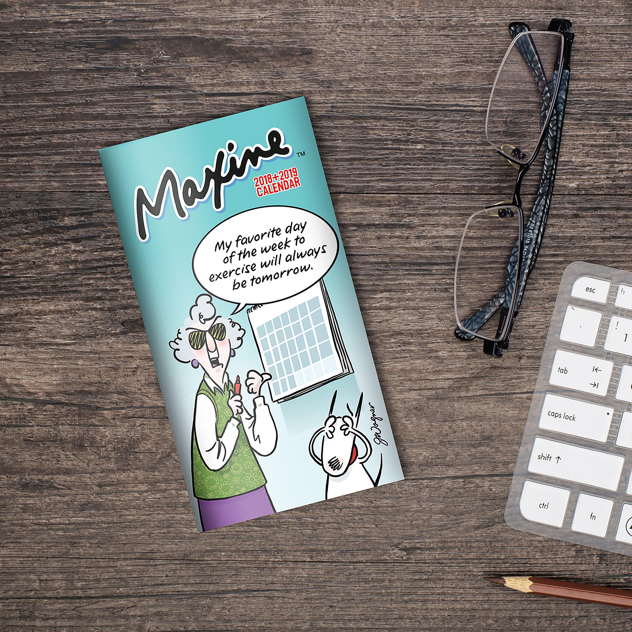 2018-2019 Maxine 2-Year Pocket Planner: John Wagner: 9781683752424:  Amazon.com: Books