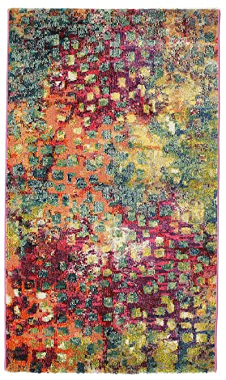 Davina Teppich 90x150 Moderner Teppich: Amazon.de: Küche & Haushalt