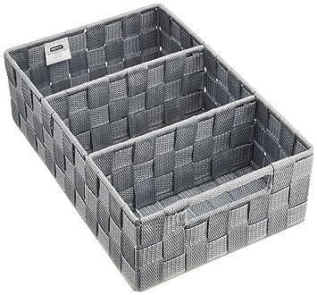 Wenko 21532100 Adria Boite De Rangement Salle De Bain Avec Poignee
