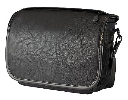 Amazon.com   Tenba Switch 7 Camera Bag - Black Faux Leather (633-301 ... 9bd4bf26b8