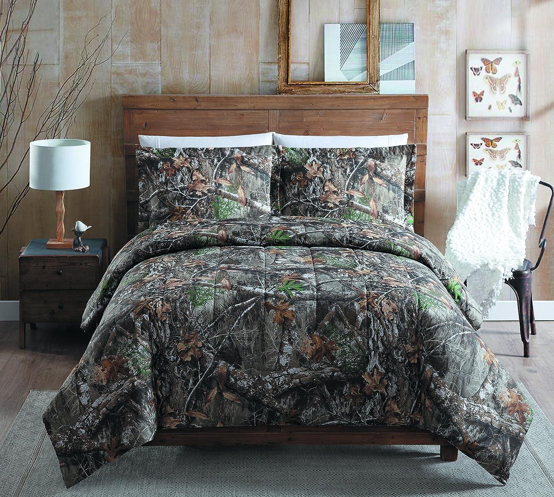 Realtree Edge Full Comforter Set, Tan