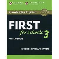 Cambridge english first for schools. Student's book. With answers. Per le Scuole superiori: 3