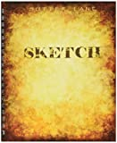 """Sketchbook for Drawing and Mixed Media 9""""x12"""", Classic Gold - Blank Spiral Bound Artist Drawing Pad/Sketch Journal"""