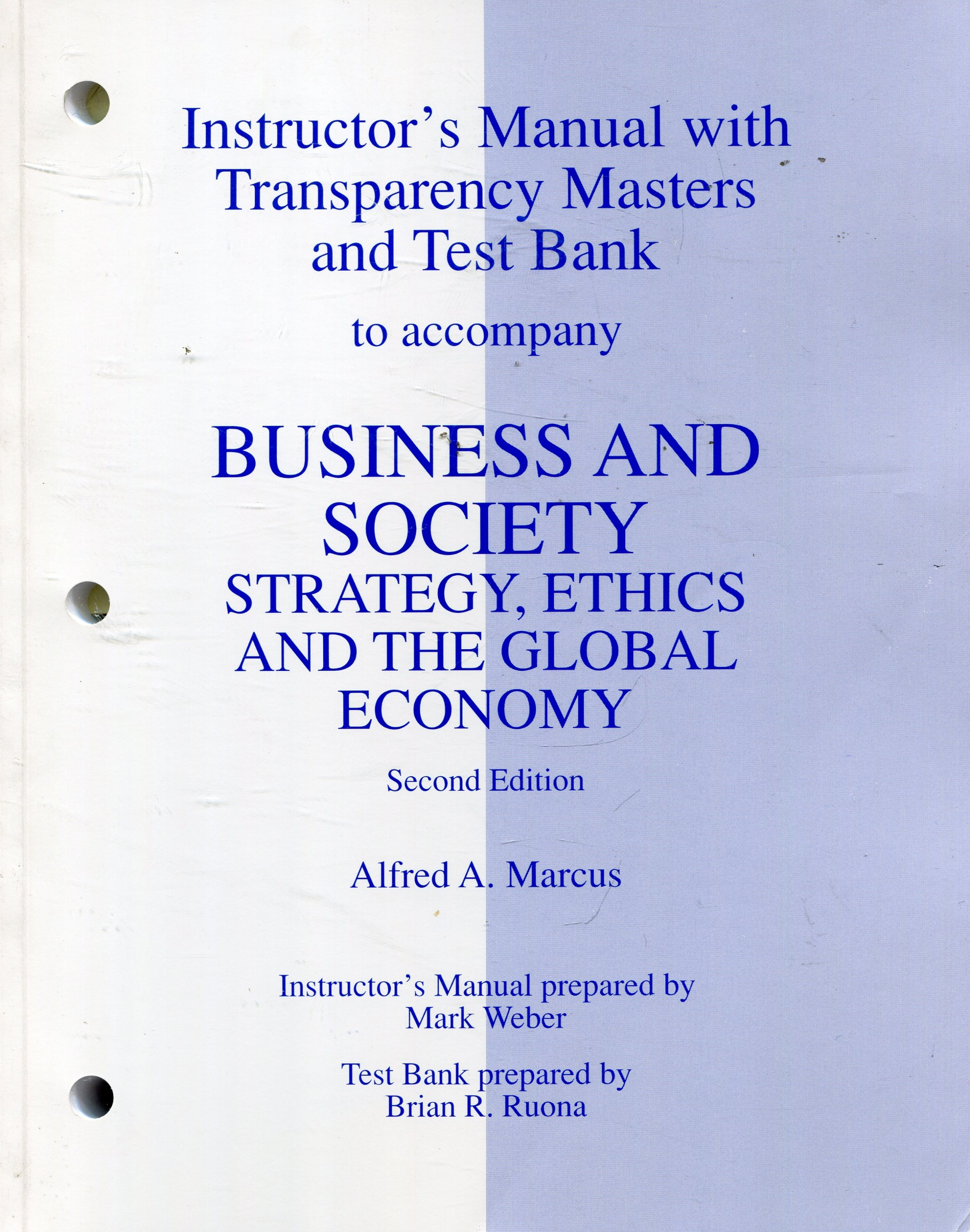 Buy Instructor's Manual: Im Business and Society Book Online at Low Prices  in India   Instructor's Manual: Im Business and Society Reviews & Ratings  ...