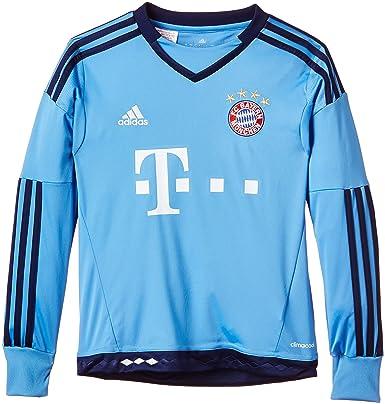 adidas Jungen Fußballtrikot FC Bayern München Replica Heim Torwart