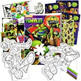 TMNT Teenage Mutant Ninja Turtles Coloring Activity Book Set with Stickers, Play Pack, Door Hanger, and More!