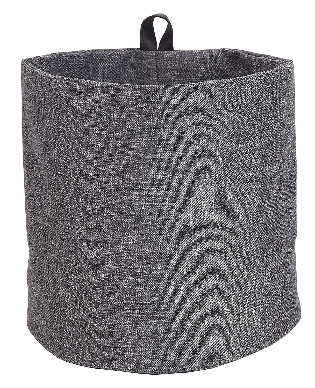 Bigso Soft Hang Around Storage Bin, Small, Grey Bigso Box 1002