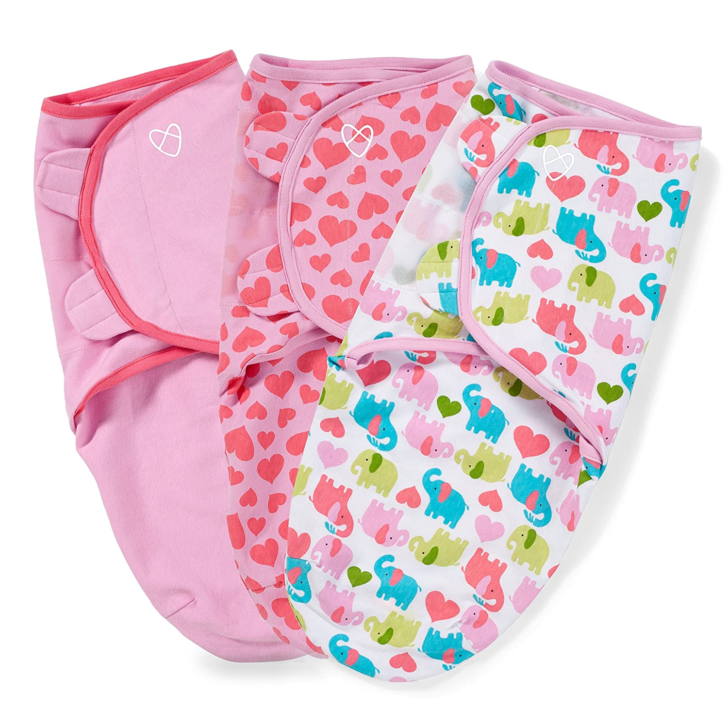 SwaddleMe Original Swaddle 3-PK, Who Loves You (SM) Summer Infant 54095