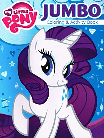 my little pony coloring and activity book featuring rarity the unicorn