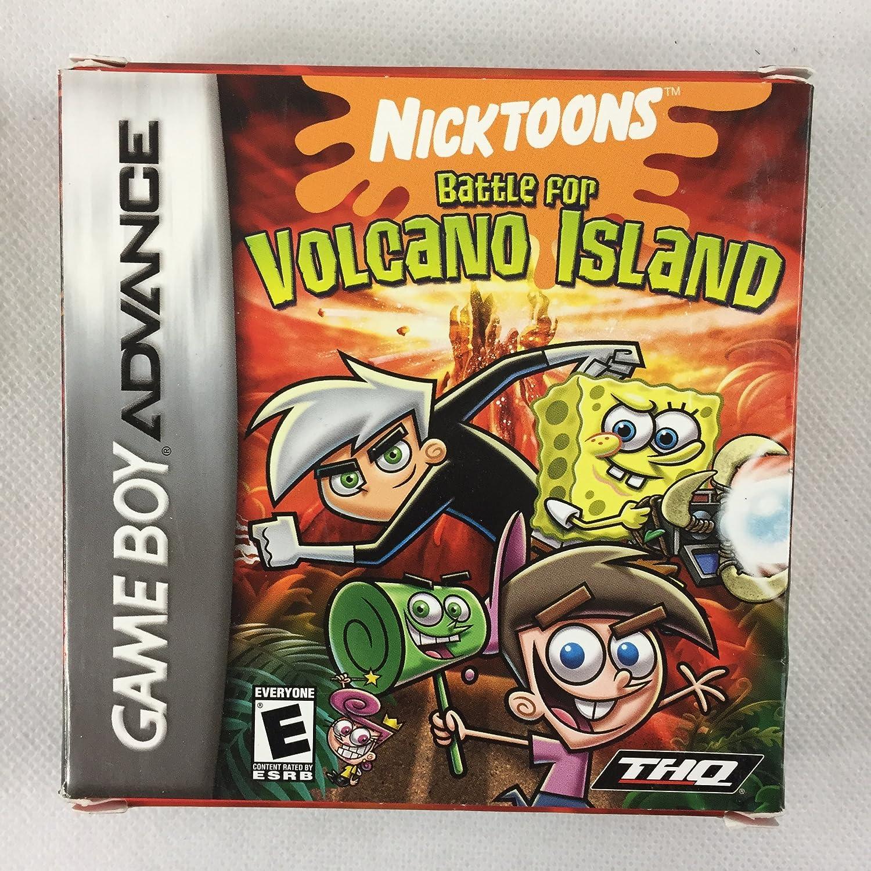 Amazon.com: Nicktoons Battle For Volcano Island: Game Boy ...