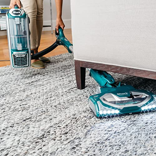 The Lift-Away design allows the vacuum to easily get under furniture