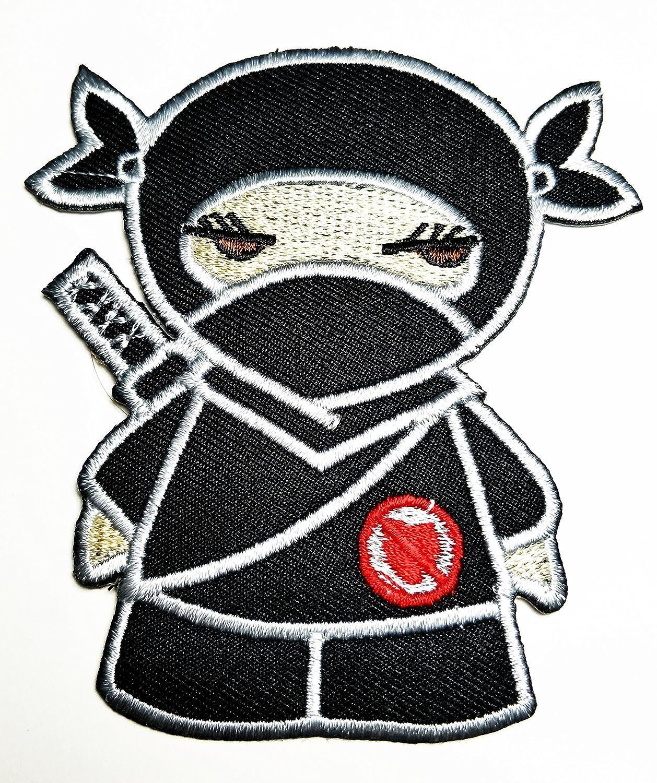 Amazon.com: HHO japonés Ninja Kid Patch bordado de dibujos ...