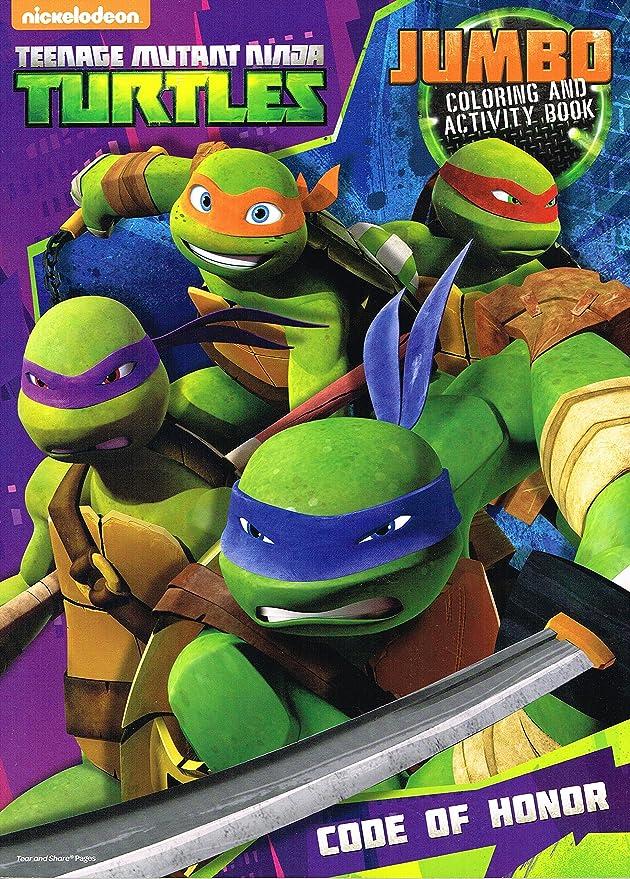 Amazon.com: TMNT Teenage Mutant Ninja Turtles para colorear ...