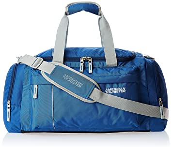 f7ee955d61 American Tourister Nylon 55 cms Blue Travel Duffle (40X (0) 01 008)   Amazon.in  Bags
