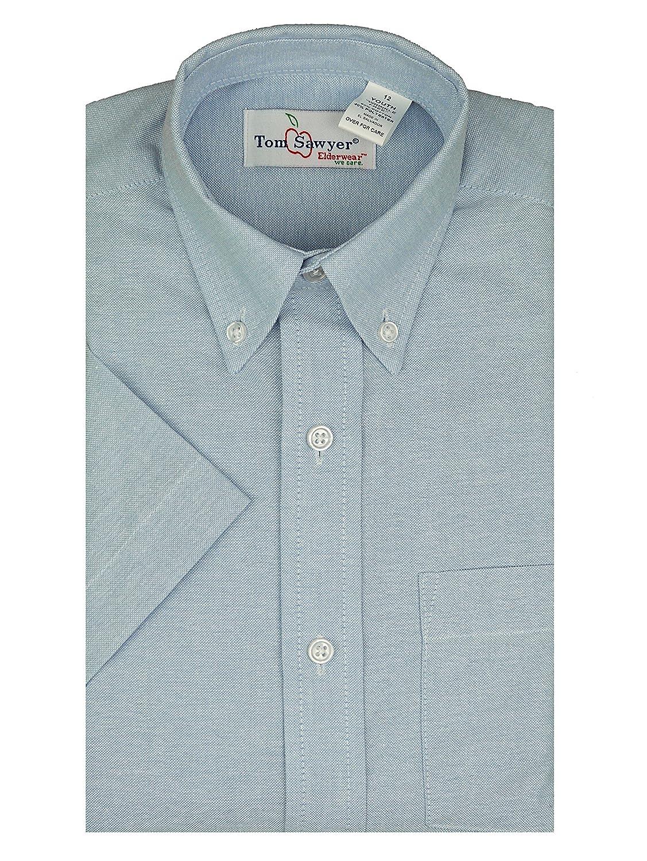 Amazon Tom Sawyer Boys Short Sleeve Buttondown Oxford Dress
