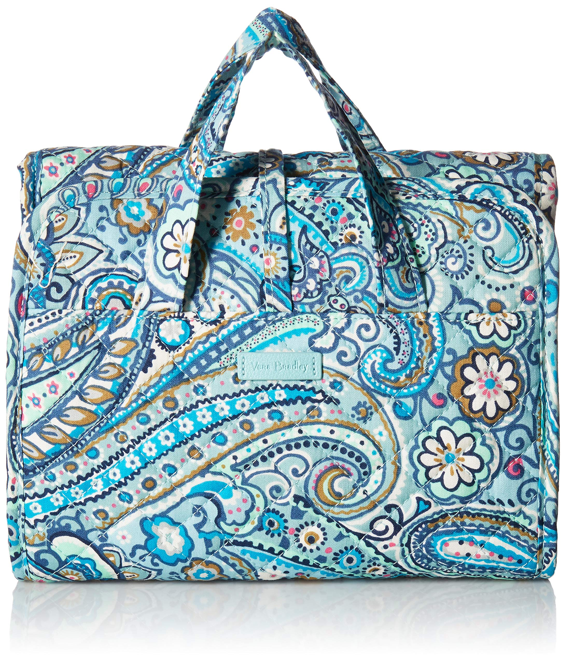 Vera Bradley womens Iconic Compact Hanging Organizer, Other Fabrication, Daisy Dot Paisley, One Size