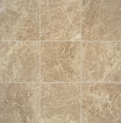 tumbled marble tile. Arizona Tile 6 By 6-Inch Tumbled Marble Tile, Emperador Light, 6-