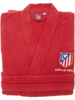 Real Madrid C.F. Albornoz Infantil Escudo Bordado  Amazon.es  Hogar 4545e677d1bf2