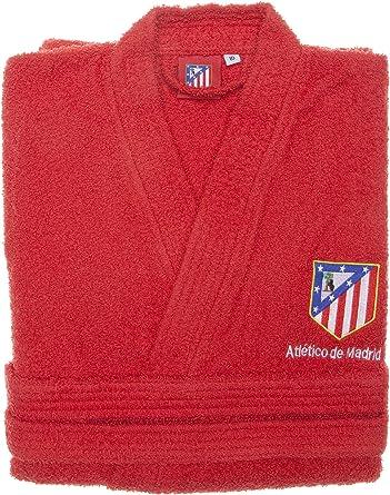 Atlético de Madrid Albornoz Infantil Rizo Basic Rojo 2 a 4 años ...