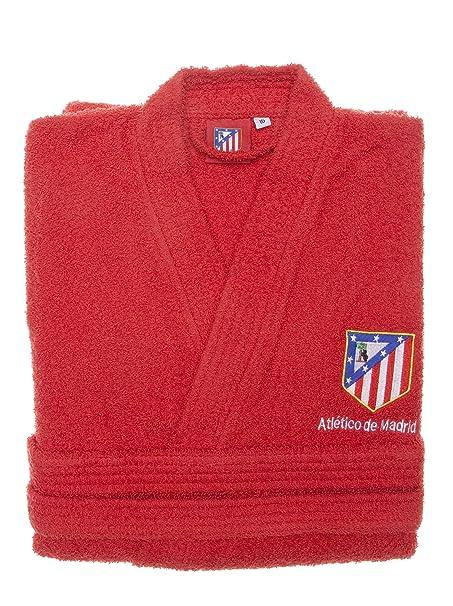 Atlético de Madrid Albornoz Infantil Rizo Basic  Amazon.es  Ropa y  accesorios af76e9aba83d2