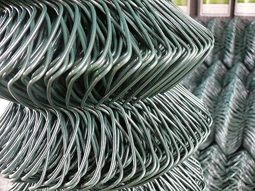 2 x rollos de 6 ft (1800) 25 mtr – PVC Recubierto M vallas C/W Line cables – Entrega gratuita: Amazon.es: Jardín