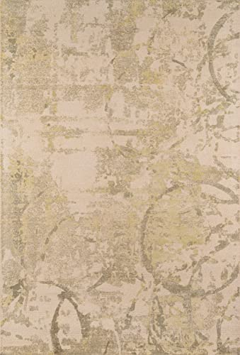 Momeni Rugs Illusions Collection Casual Area Rug, 3 6 x 5 6 , Olive Green