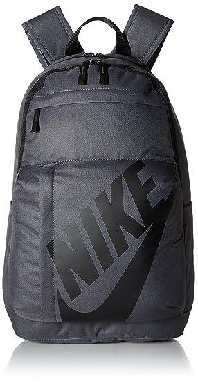 Nike Elmntl Bkpk Mochila, Unisex Adulto, Negro/Gris Oscuro, S: Amazon.es: Deportes y aire libre