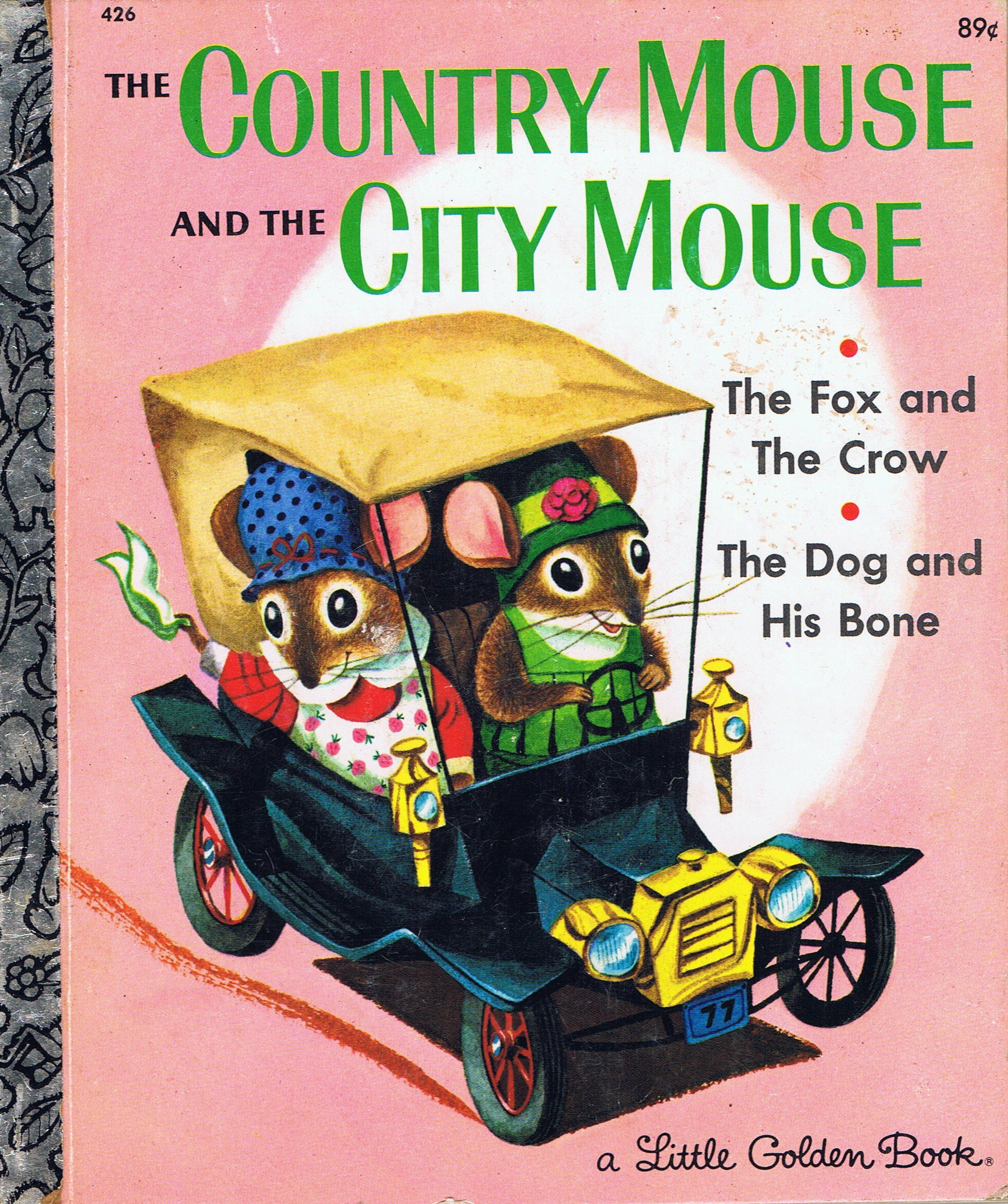 Town Mouse And City Jan Brett The Country Dog His Bone Fox 1961x2343