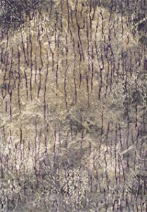 Sitap Casanova Tappeto, Seta Vegetale Ciniglia di Polipropilene 50%, Grigio, 160x235x2 cm