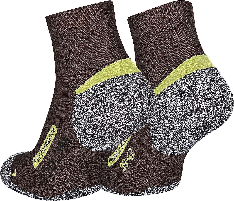 2 pares de calcetines de /última tecnolog/ía Piarini Para actividades al aire libre Varios colores Coolmax