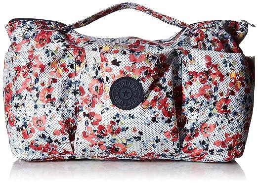 Amazon.com  Kipling Beckett Printed Handbag Organizer Busy Blossoms ... 0a216281d01e6