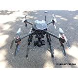 Surveying / Aerial Mapping X8 Quadcopter Drone With RTK Multi GNSS GPS