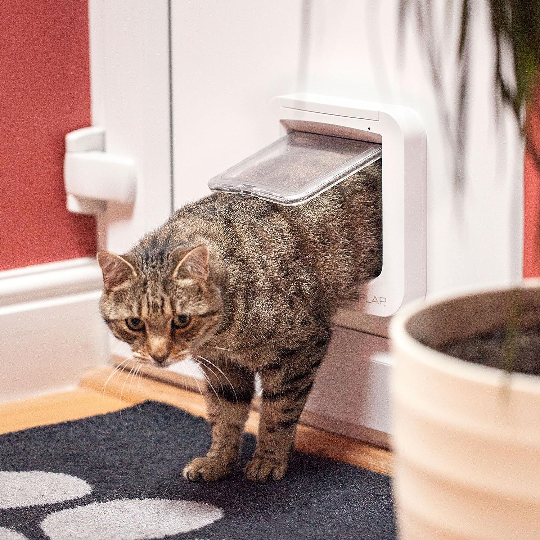 Sureflap Haustierklappe Mikrochip Cat Door Brown 1St.