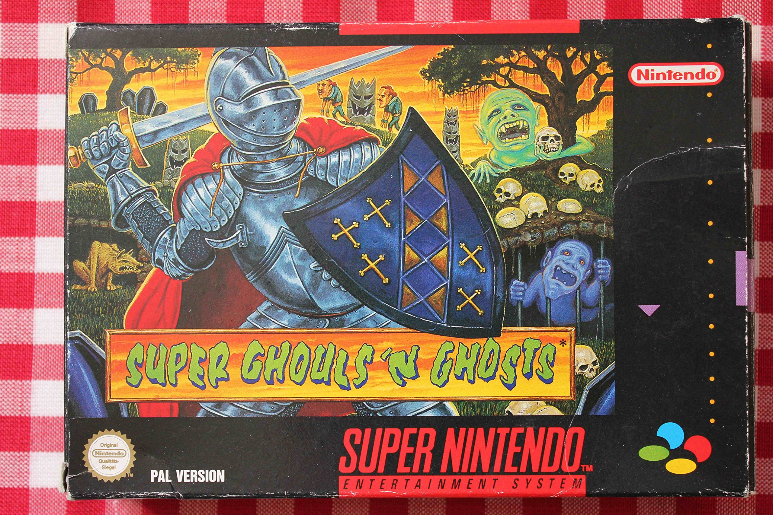 Super Ghouls N Ghosts