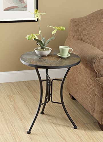 4D Concepts Slate Round Top Coffee Table