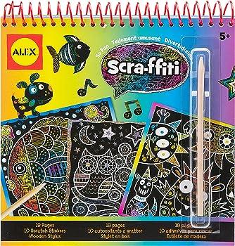 ALEX Toys Artist Studio Scra-ffiti So Fun Scratch Pad Coloring