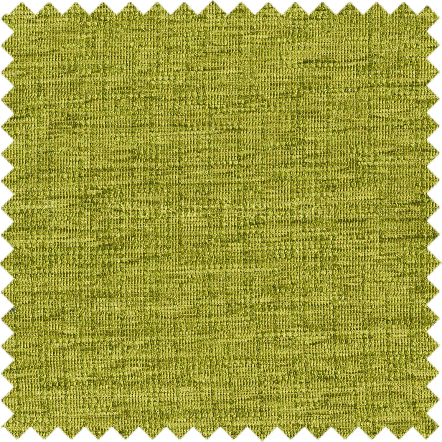 Soft Shimmering Chenille Upholstery Material Fabrics Lime Green