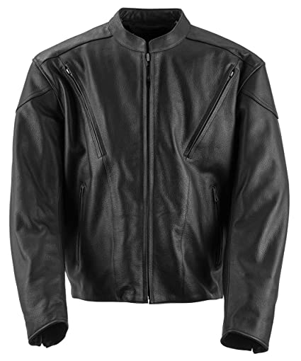 Amazon.com  Black Brand Men s Leather Killer Motorcycle Jacket ... 179fc986cb0d8