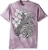 The Mountain Unisexe Adulte Colorwear Zebre T Shirt