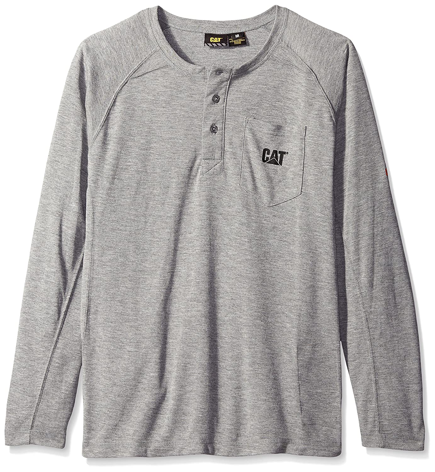 Caterpillar SHIRT メンズ B012HZ993Y 3L|Flame Resistant Heather Grey Flame Resistant Heather Grey 3L