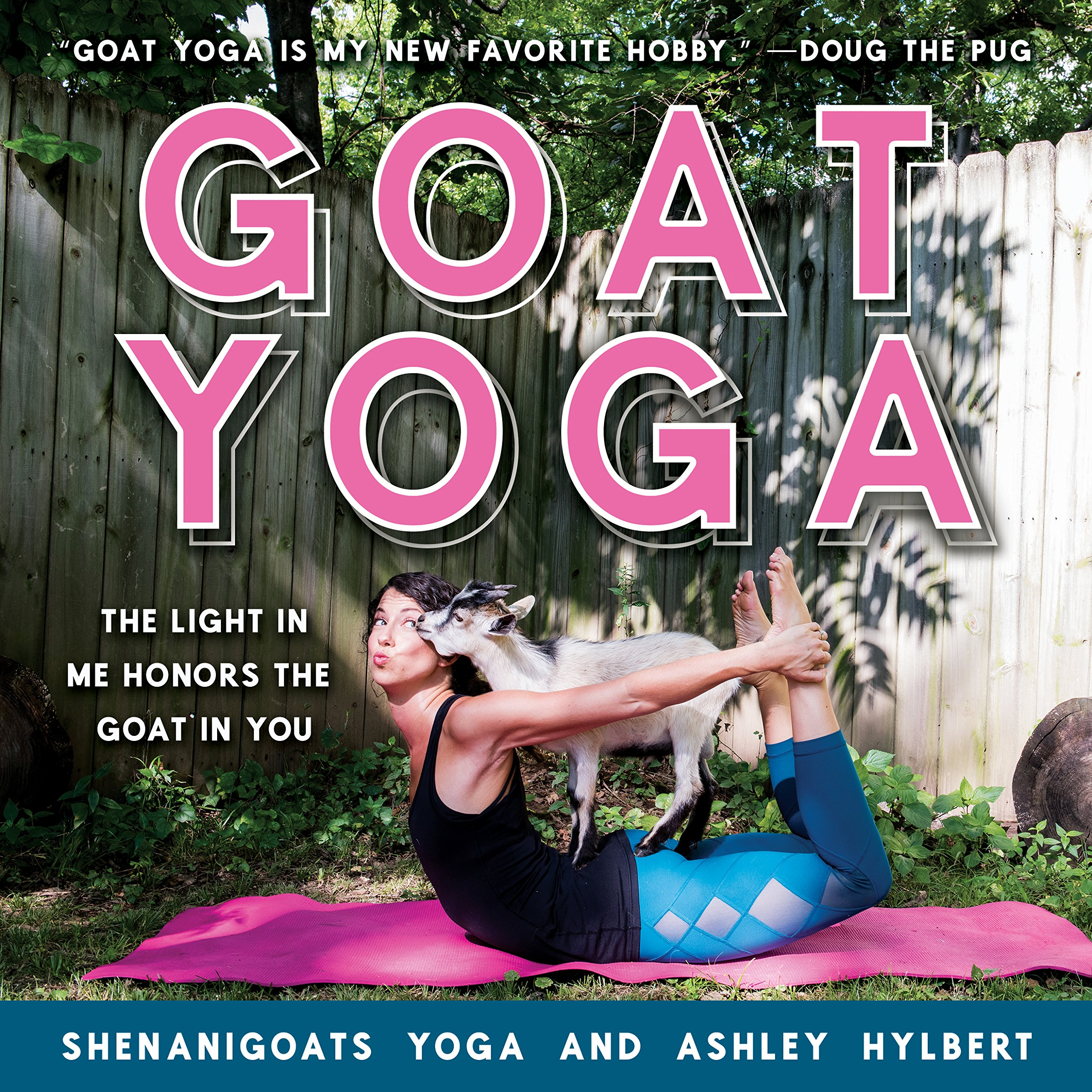 Goat Yoga: The Light in Me Honors the Goat in You: Amazon.es ...