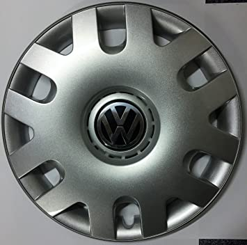 "VW Polo 15 ""Single Steel Tapacubos 6q0601147 ..."