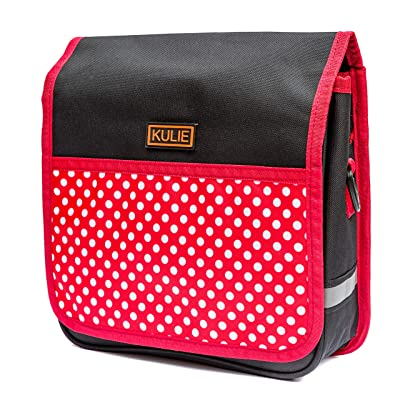 Kulie Kids Bicycle Bag (Polka) : Sports & Outdoors