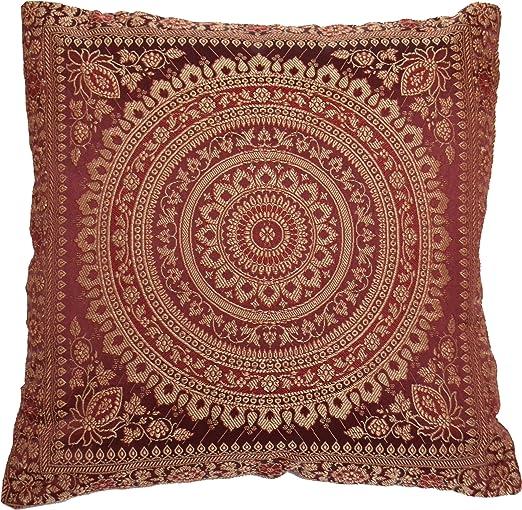 38,1 cm Mandala seda de imitación funda para cojín de ...