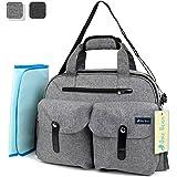 Amazon.com : Diaper Bag, RUVALINO Large Diaper Tote
