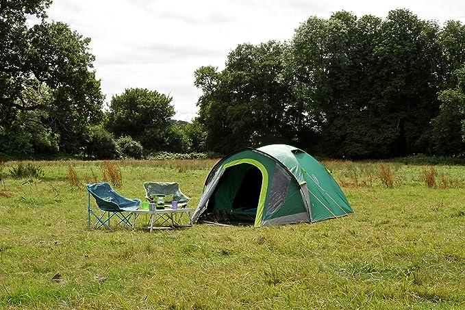 Coleman Kobuk Valley de campaña de cúpula, unisex, Kobuk Valley 3+, verde: Amazon.es: Deportes y aire libre