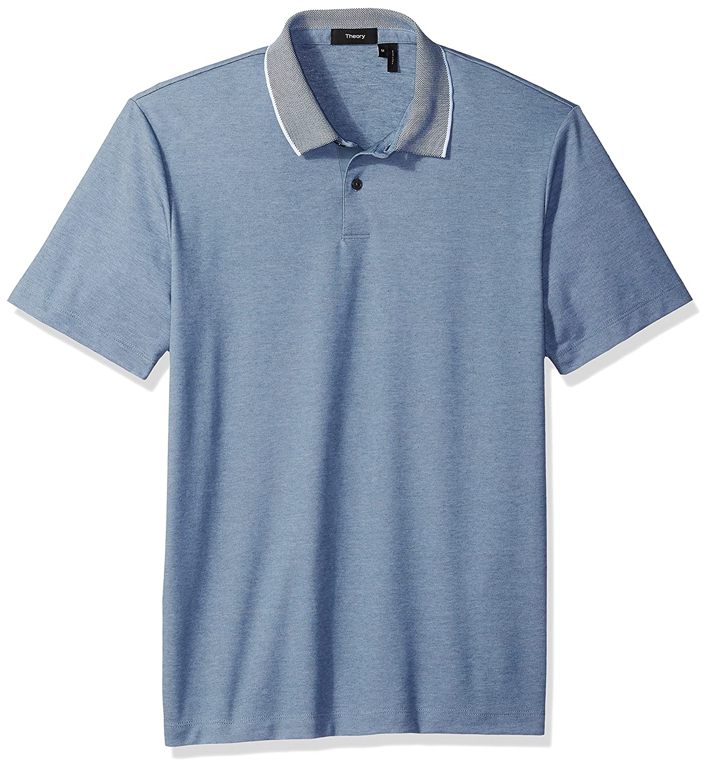 Theory Mens Standard Polo Current Pique